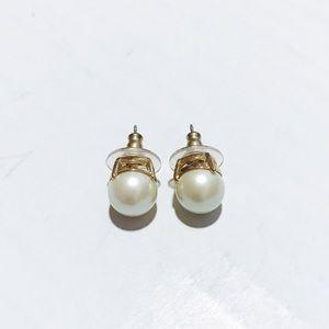 Kate Spade - Pearl Earrings